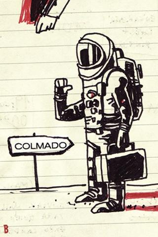 bravo astronauta colmado