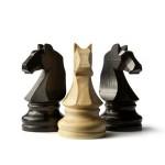 Большая яблочная шахматная партия ко дню Киева