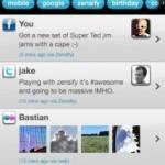 Zensify – интересный агрегатор социальных сетей для iPhone