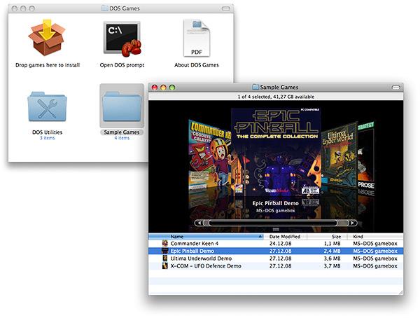 Каталог DOS Games