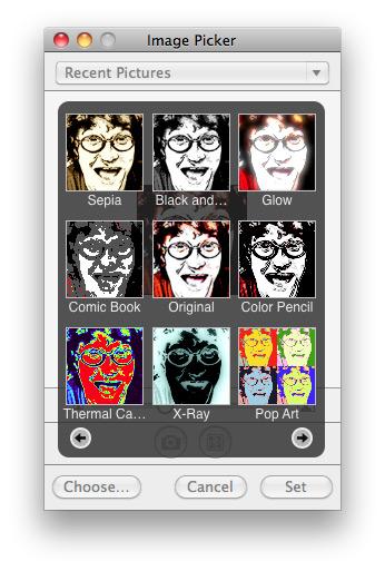 Настройка аватара