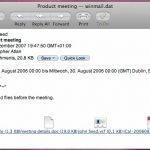 Letter Opener – плагин Mail для поддержки вложений из Outlook
