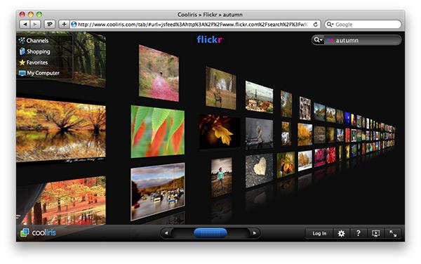 Область просмотра медиафайлов в окне Safari.