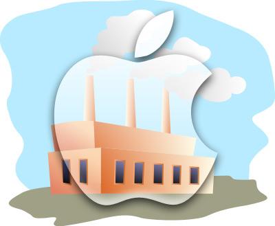 Фабрика Apple.
