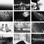 ПростоWALL: Черное и белое