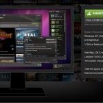 Страница загрузки Steam for Mac.