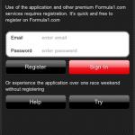 Официальная «Формула 1» в iPhone