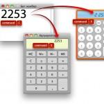 Калькулятор: Вставка скопированных чисел