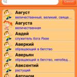 Что в имени тебе моем? Приложение «Русские Имена» для iPhone