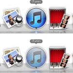 Dock: Полупрозрачные иконки скрытых приложений