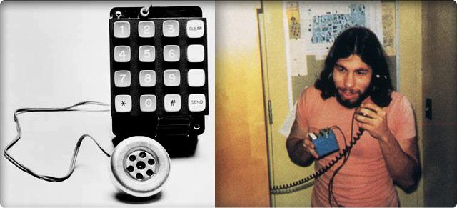 «Блу-бокс» крупным планом и в действии (на фото — Стив Возняк).
