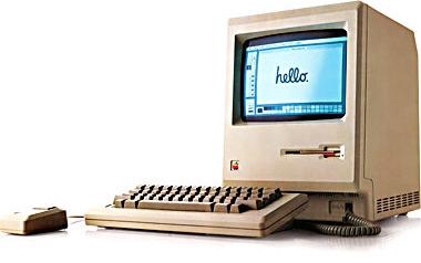 Первый Macintosh.