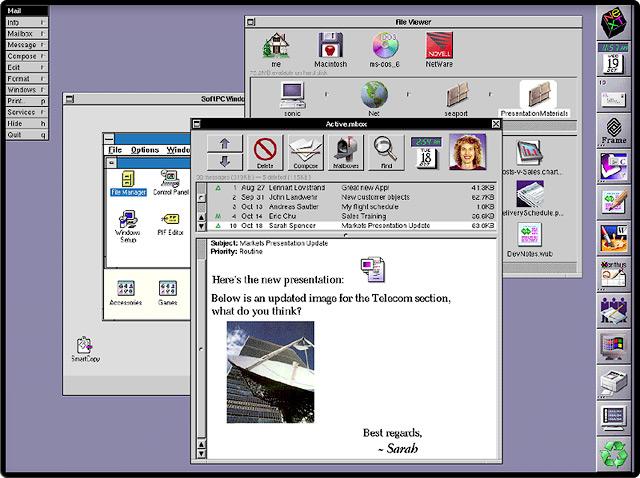 Операционная система NeXTSTEP.