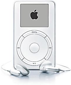 iPod первого поколения.