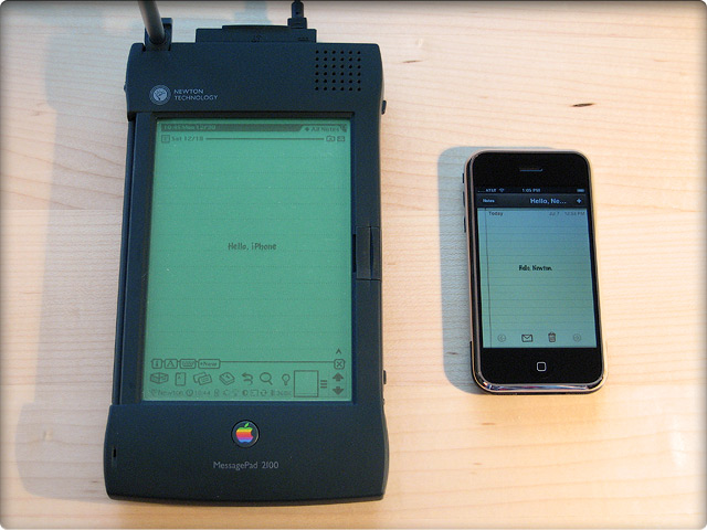 Newton и iPhone: ветви одного дерева эволюции?