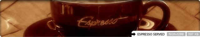 Espresso Served