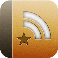 Иконка Reeder for iOS.