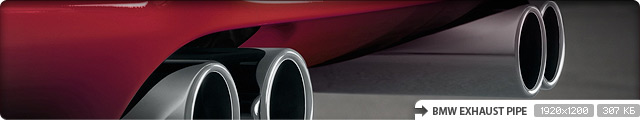 BMW Exhaust Pipe