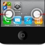iOS: Листание домашних экранов простым касанием пальца