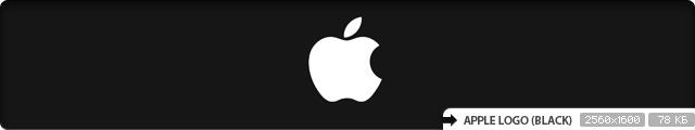 Apple Logo (black)