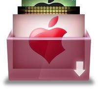 «Яблочные» обои.