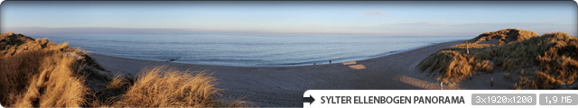 Sylter Ellenbogen Panorama