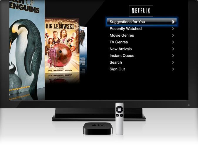 AppleTV на сайте apple.com.