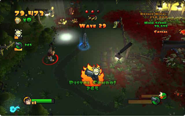 Сцена из игры.