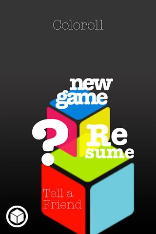 Основное меню игры.