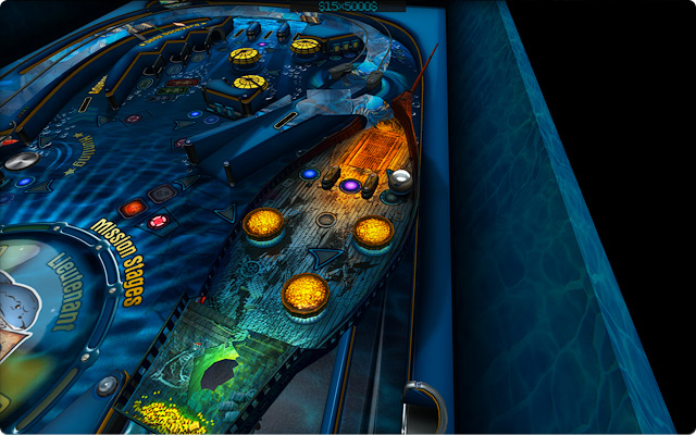 Pinball HD The Deep.