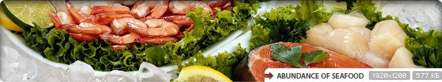 Abundance of Seafood