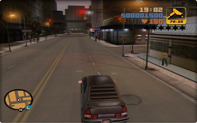 Grand Theft Auto III. Поездка по китайскому кварталу в Портленде.