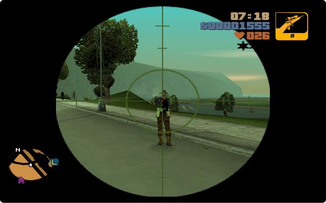 Grand Theft Auto III. Разборки с колумбицами в районе стройки Стонтон-Плазы на Стонтон-Айлэнде.