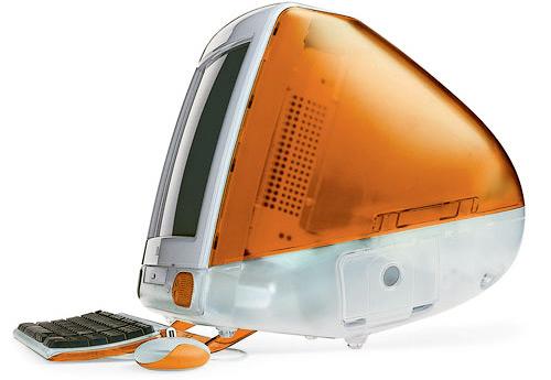 iMac G3 Tangerine.
