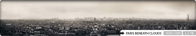 Paris Beneath Clouds