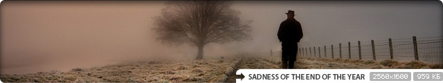 Sadness of the End of the Year