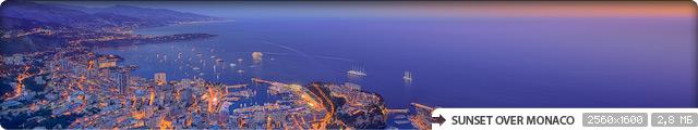 Sunset Over Monaco