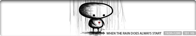 When the Rain Does Always Start