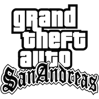 Значок Grand Theft Auto San Andreas.