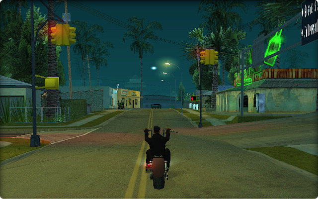 Grand Theft Auto San Andreas.
