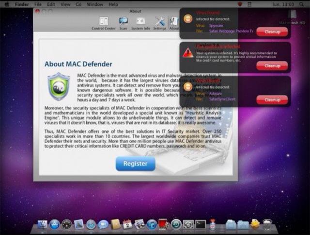 mac безопасность