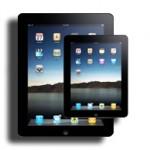 iPad Mini с диагональю 7,85 дюйма в 2012 году.