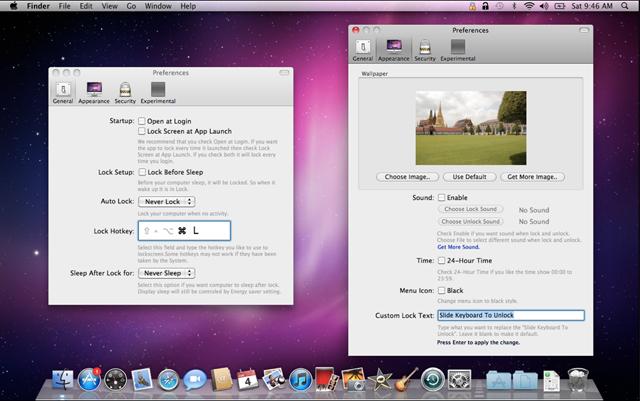 lock screen для mac
