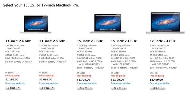 macbook pro new