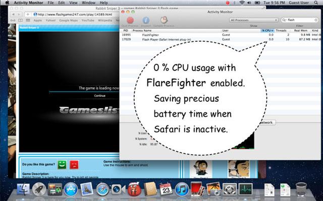 проблемы с flash для mac