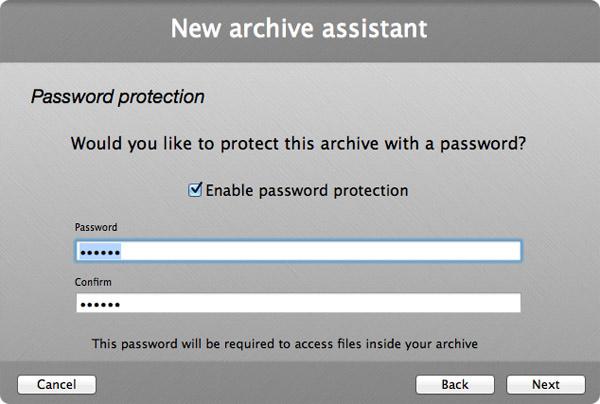 бесплатный архиватор для mac