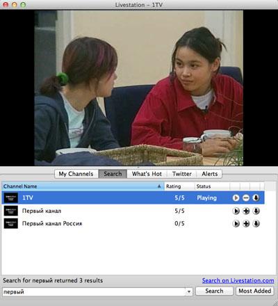 онлайн телевидение для mac