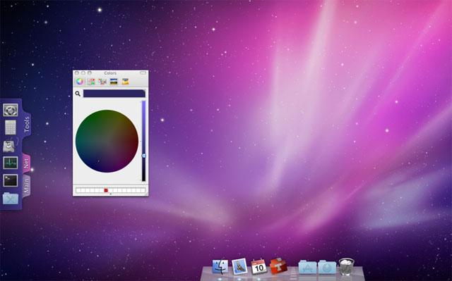 дополнительный dock в mac