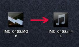 конвертирование видео в аудио
