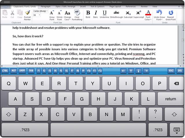 приложение word для ipad - фото 10